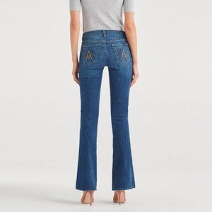 7 For All Mankind 7FAM A Pocket Light Wash Jeans